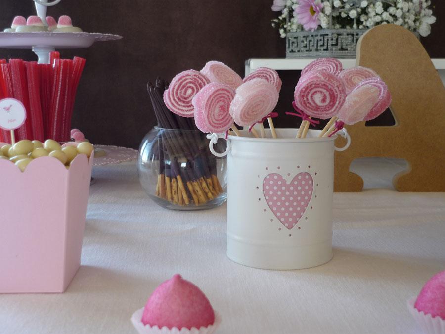 Gominolas frambuesas en el mar - Ideas para decorar mesas de chuches ...